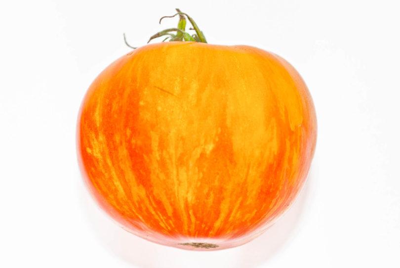 Die Farben dieser Tomatensorte sind wunderschön