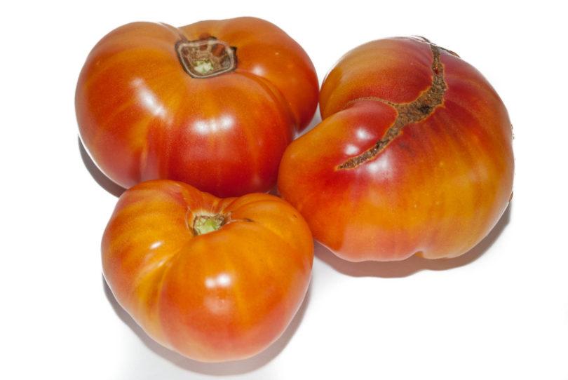 Reife mehrfarbige Früchte