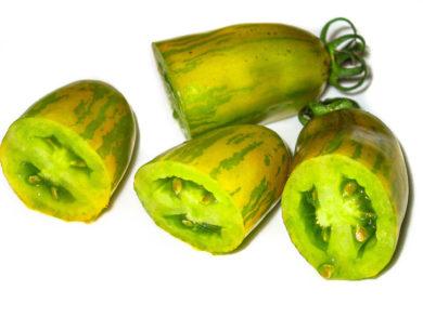Green Sausage - Solanum lycopersicum - Tomatensorte
