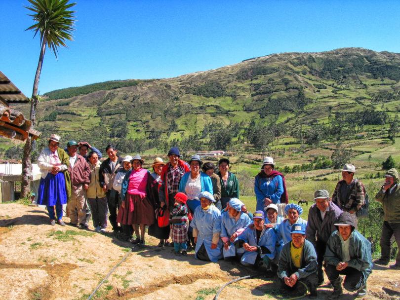 Eine Kooperative aus Chuquiribamba stellt den bekannten Horchata lojana Kräutertee her