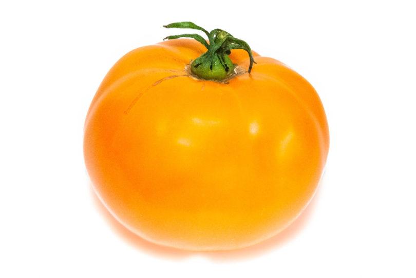 Die Fleischtomate Kasachstan Orange schmeckt aromatisch und lecker