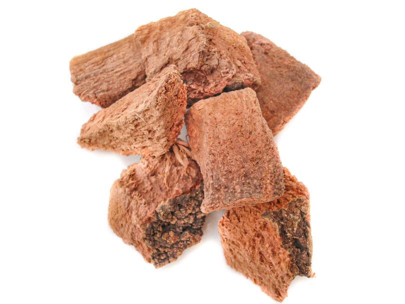 Quercus rugosa - Getrocknete Encino Stücke bekommt man auf vielen Märkten in Mexiko
